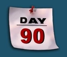 90 day rule dating